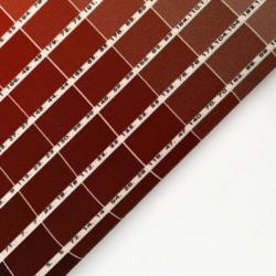 Cartella colori in tela di cotone