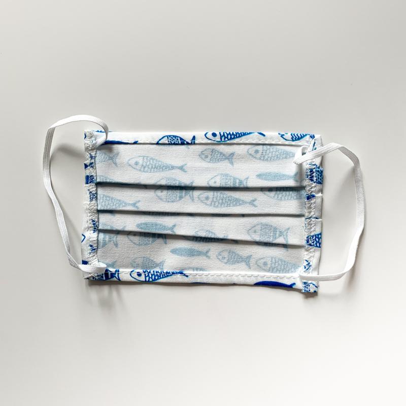 Confezione mascherine con pesciolini