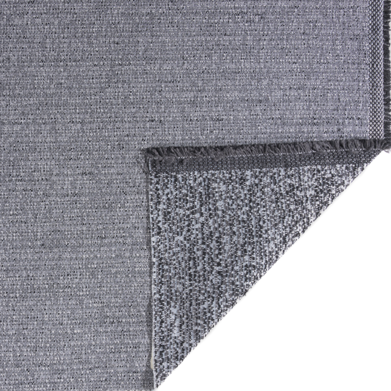 Tessuto jacquard trama piccola grigio medio