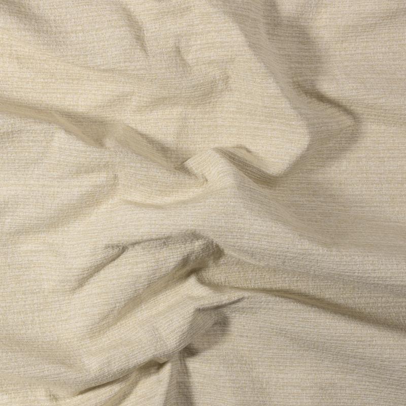 Tessuto jacquard trama piccola color crema