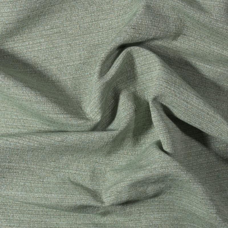 Tessuto jacquard trama piccola melange verde