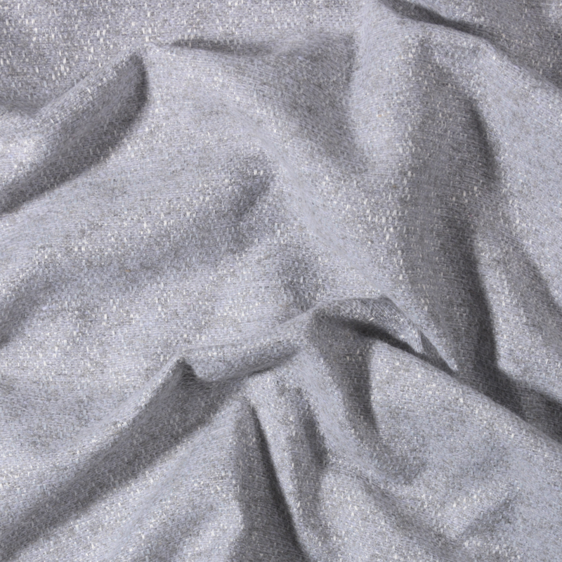 Tessuto jacquard trama media grigio chiaro