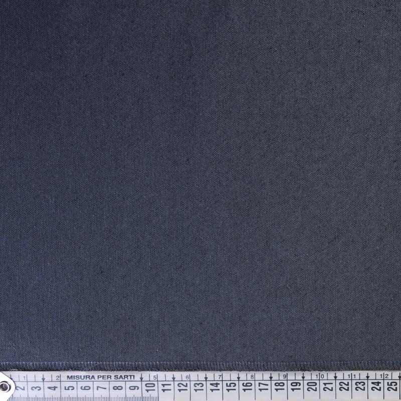 Tessuto jacquard per arredo tinta unita grigio antracite
