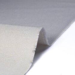 Tessuto jacquard per arredo color bianco