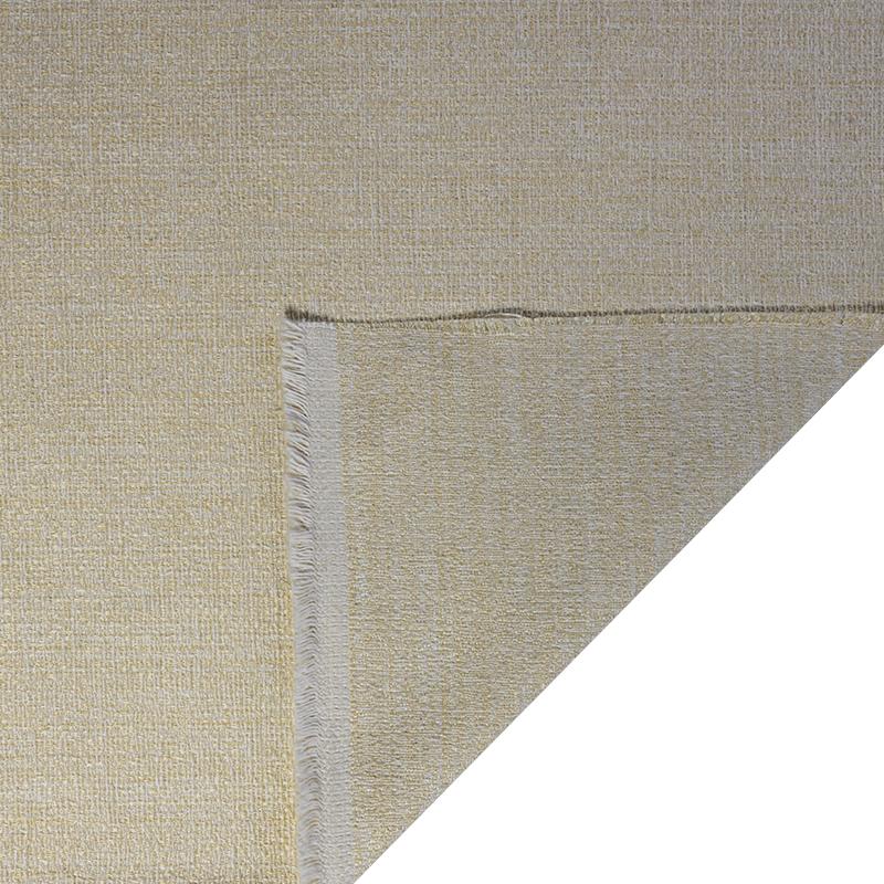 Tessuto jacquard per arredo color corda chiaro