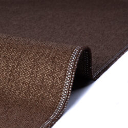 Tessuto jacquard per arredo color marrone