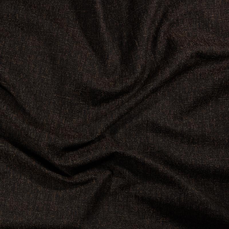 Tessuto jacquard per arredo color marrone scuro