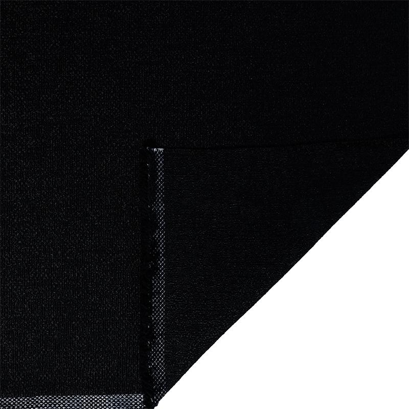 Tessuto jacquard per arredo color nero