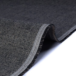 Tessuto jacquard per arredo color grigio scurro melange