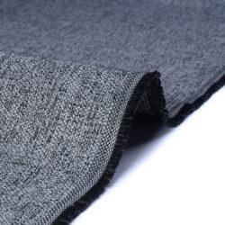 Tessuto jacquard per arredo color bianco e nero