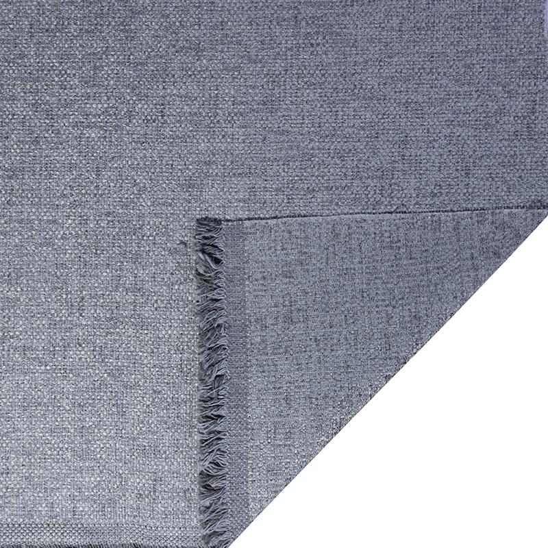 Tessuto jacquard per arredo color grigio ghiaccio