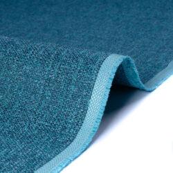 Tessuto jacquard per arredo color blu ottanio