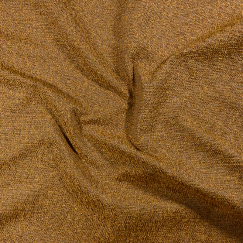 Tessuto jacquard per arredo color ocra melange