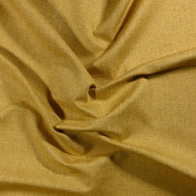 Tessuto jacquard per arredo color senape