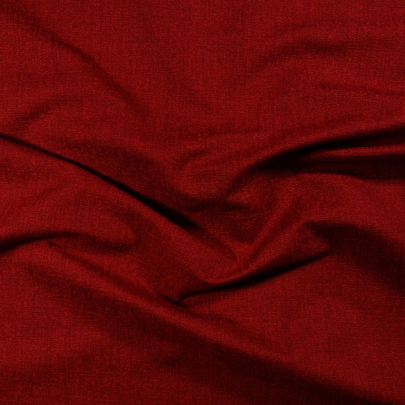 Tessuto jacquard per arredo color rosso cardinale