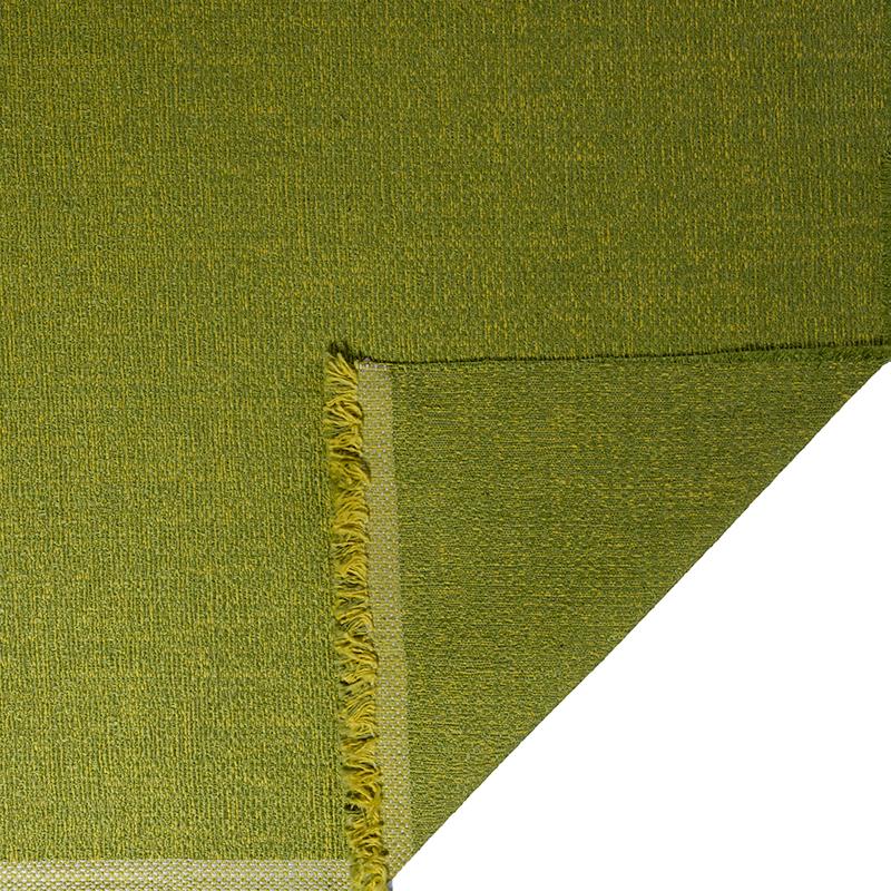 Tessuto jacquard per arredo color verde melange