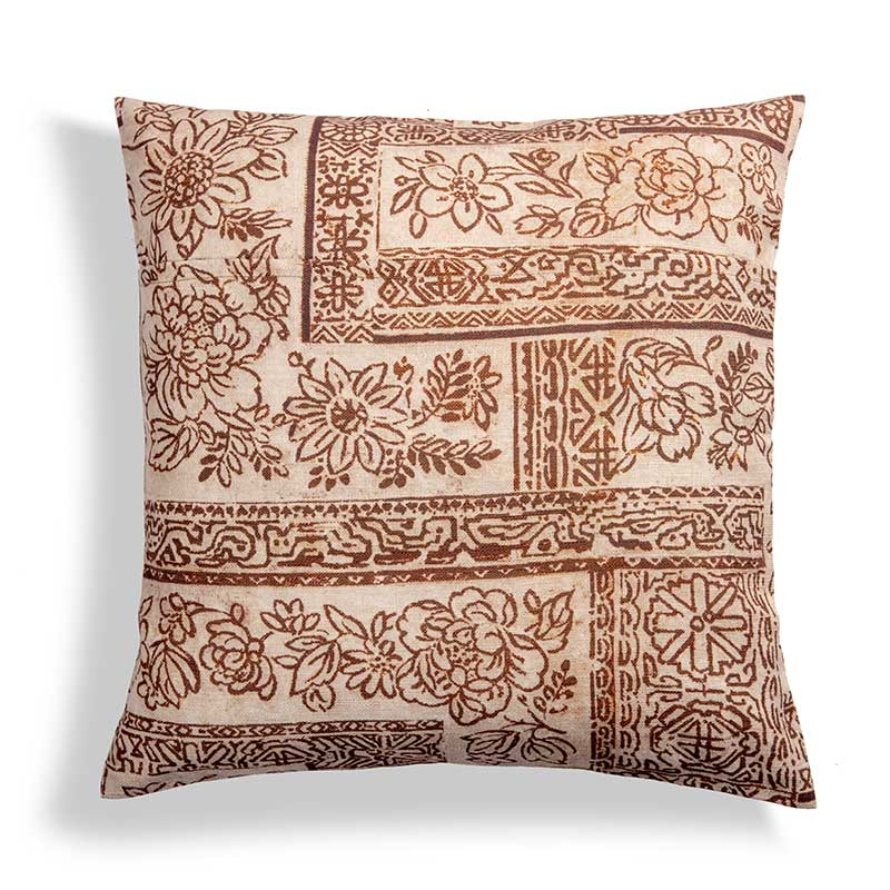 Fodera per cuscino 50×50 con disegno batik