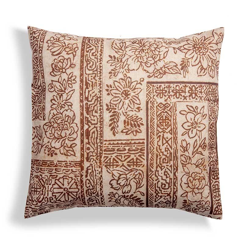 Fodera per cuscino 40×40 con disegno batik