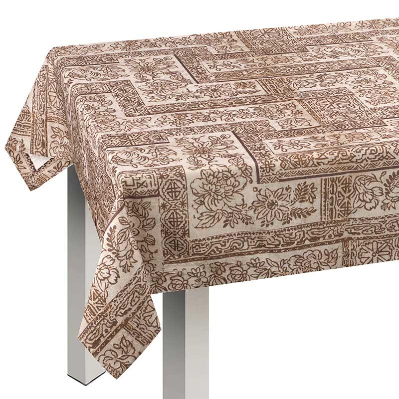 Tovaglia con tovaglioli da 6 persone con disegno batik