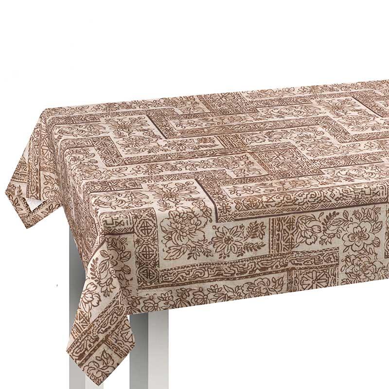 Tovaglia da tavolo da 6 persone con disegno batik